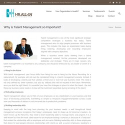 Reasons Why Talent Management is So Essential