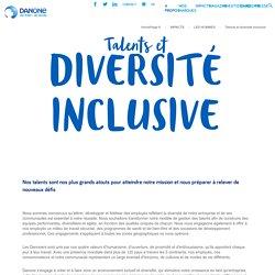 Talents et diversité - Danone