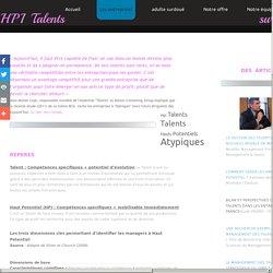 Hpi Talents - Talents Hauts Potentiels Atypiques