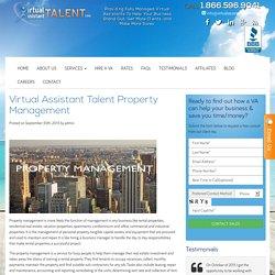Virtual Assistant TalentVirtual Assistant Talent Property Management - Virtual Assistant Talent