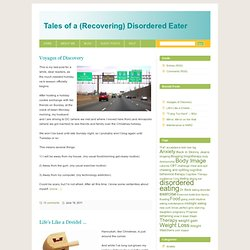 Tales of a Recovered Disordered Eater