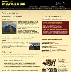 Tales of the Maya Skies - Online Activities