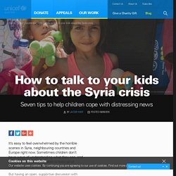 How to talk to your kids about the refugee crisis
