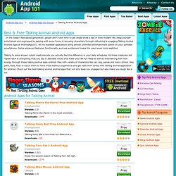 Best Talking Animal Android Apps - Free Talking Animal Android Applications