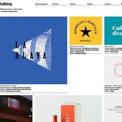 Talking: Graphic Design Agency in Barcelona - Estudio de diseño gráfico y web de Barcelona - Gastronomía