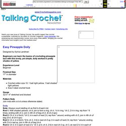 Talking Crochet