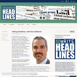 Talking Headlines: with Kevin Mitchell