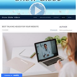 Best talking Heads for your Website