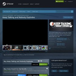 Keep Talking and Nobody Explodes no Steam