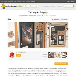 Talking Art Display : 9 Steps (with Pictures) - Instructables