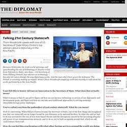 Talking 21st Century Statecraft
