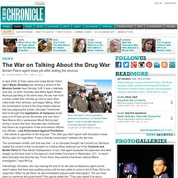 The War on Talking About the Drug War