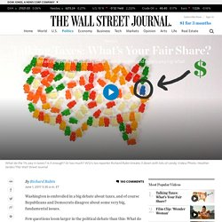 Talking Taxes: What's Your Fair Share? - WSJ