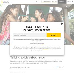 Talking to kids about race