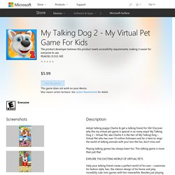My Talking Dog 2 - My Virtual Pet Game For Kids – Games on Microsoft Store