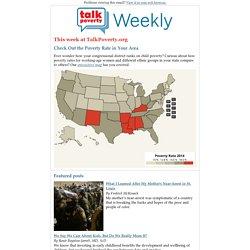 TalkPoverty Weekly - November 20, 2015