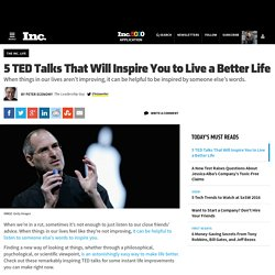 5 TED Talks That Will Inspire You to Live a Better Life