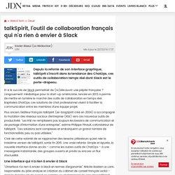 talkSpirit, l'outil de collaboration français qui n'a rien à envier à Slack