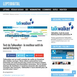 Test de Talkwalker : le meilleur outil de social listening ?