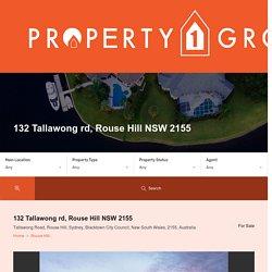 Tallawong rd, Rouse Hill