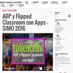 """Taller """"ABP y Flipped Classroom con Apps"""" en SIMO 2016"""