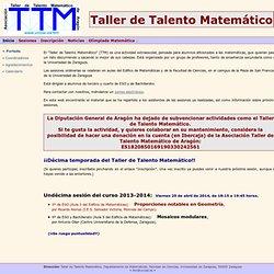 Taller de Talento Matemático