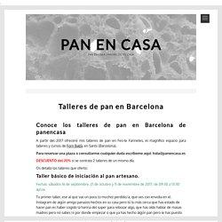 talleres de pan en barcelona - panencasa