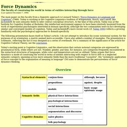 TALMY - Force Dynamics
