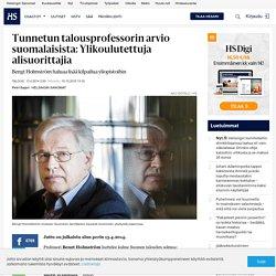 Tunnetun talousprofessorin arvio suomalaisista: Ylikoulutettuja alisuorittajia
