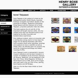 Ionel Talpazan: Henry Boxer Gallery - Visionary Artist - UFO Artist