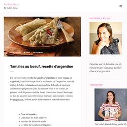 Tamales au boeuf, recette d'argentine