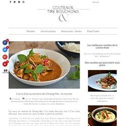Curry thaï au tamarin de Chiang Mai