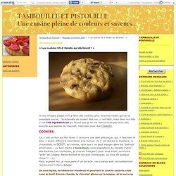 + Les cookies US d' Estelle qui déchirent ! + - Tambouille et Pistouille
