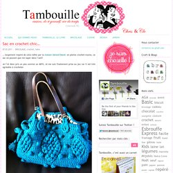 Sac en crochet chic…