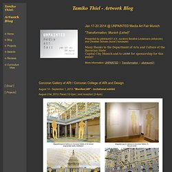 Tamiko Thiel: Online Portfolio