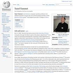 Tanel Tammet