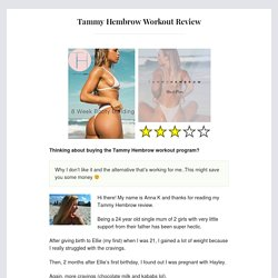 Tammy Hembrow Workout Review - Why I Don't Like It!