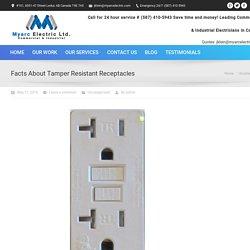 Tamper Resistant Electrical Receptacles