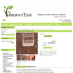 Tampon à savon personnalisé - Aromat'Easy