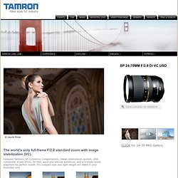 SP24-70mm F/2.8 Di VC USD; Tamron USA, Inc.