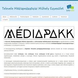 Médiapakk tananyagcsomagok - Televele Médiapedagógiai Műhely Egyesület