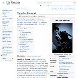 Tancrède Ramonet