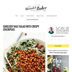Kale Salad with Tandoori Roasted Chickpeas