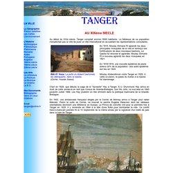 TANGER: au 19ème siècle