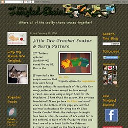 Little Fire Crochet Soaker & Skirty Pattern