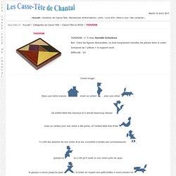 Casse-Tête - Bois - TANGRAM - n° 5 - Hachette Collections