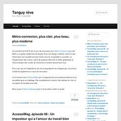 Blog de Tanguy, expert accessibilité (tuto)