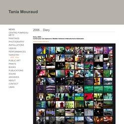 Tania Mouraud : 2006... Diary