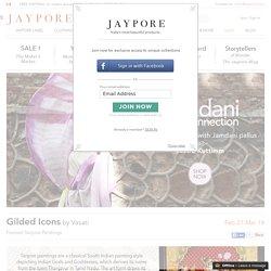 ★2016/02 [Jaypore] Tanjore Paintings