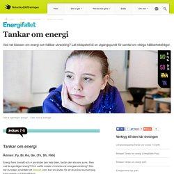Tankar om energi